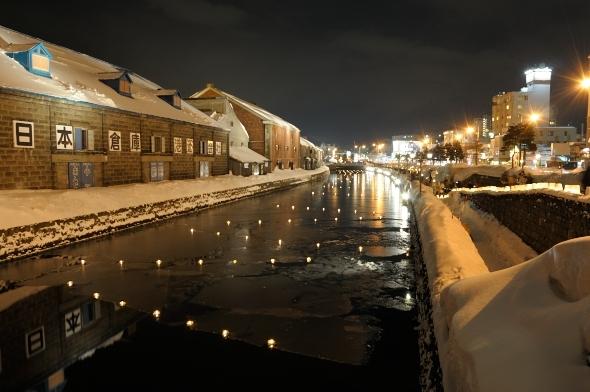 小樽雪あかりの路