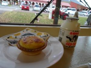 ミルク工房のチーズタルト