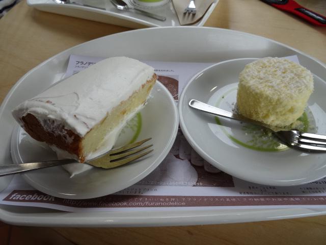 フラノデリスのケーキ