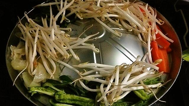 ジンギスカン野菜